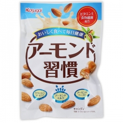 Kasugai Almond Habit Candy 85g